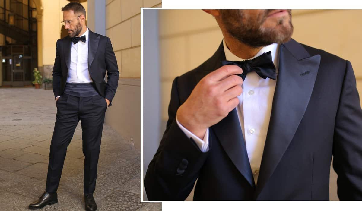 abito cerimonia uomo